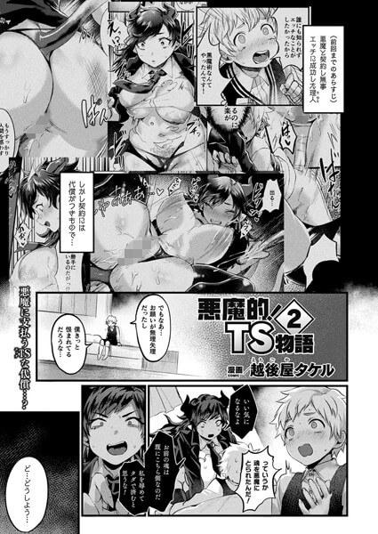 【悪魔的!TS物語 2】表紙画像