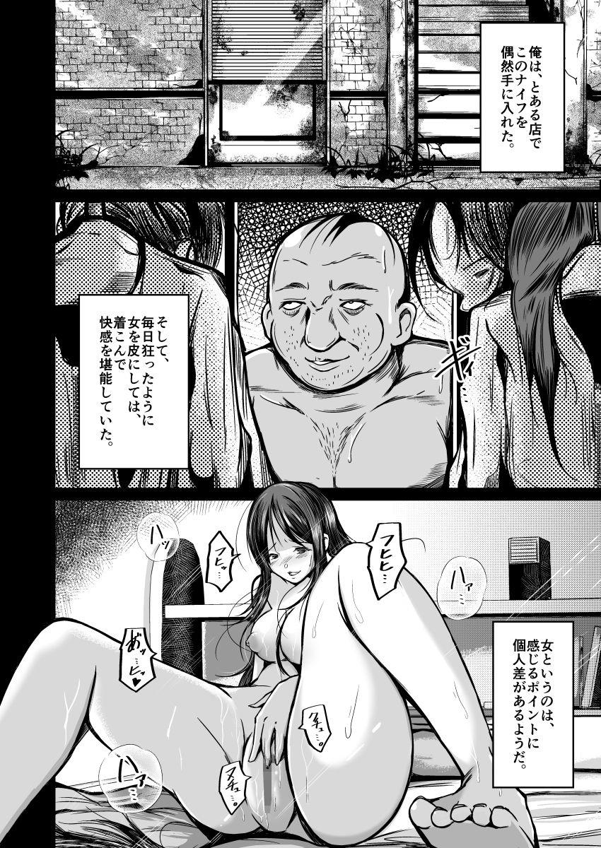 【皮化ナイフNEXT】前作の説明ページ2