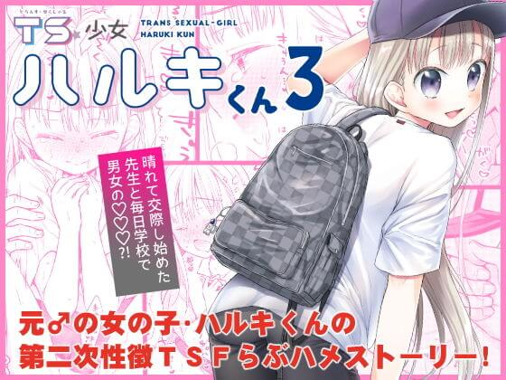【TS少女ハルキくん3】表紙画像