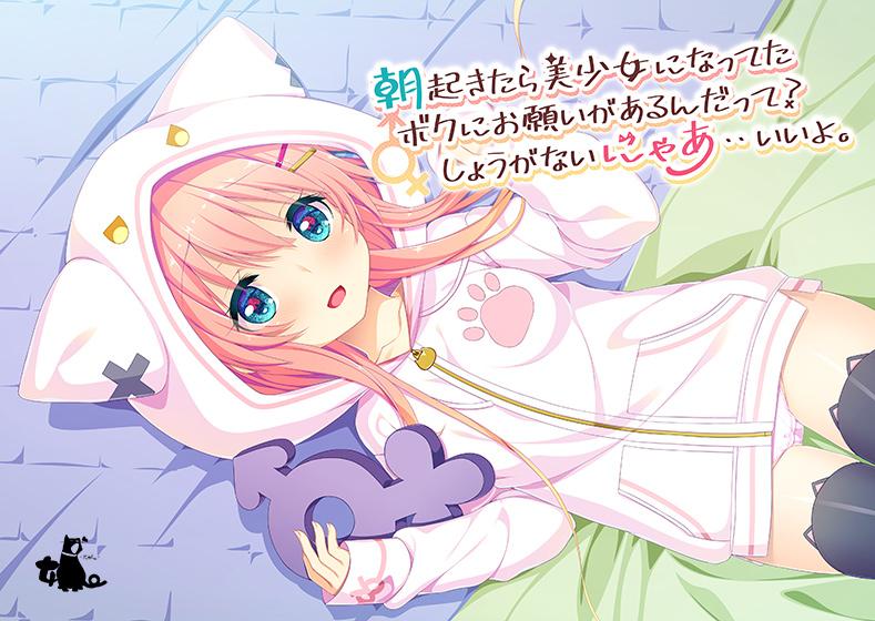 【朝起きたら美少女になってたボクにお願いがあるんだって?しょうがないにゃあ・・いいよ。】パッケージ画像
